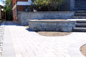 Foreground Landscape and Masonry - Masonry